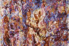 Kjærlighetsformel Oljemaleri (100x100 cm) kr 35000 ur