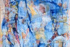 Turbolente tider I Oljemaleri (150x100 cm) kr 50000 ur