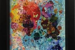 Palett I Oljemaleri (30x24 cm)