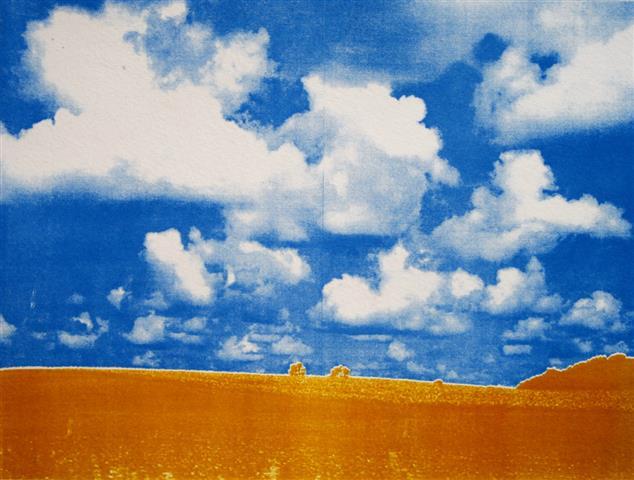 Landscape II Photolito 22,5x29,5 cm 1000,-kr u.r.
