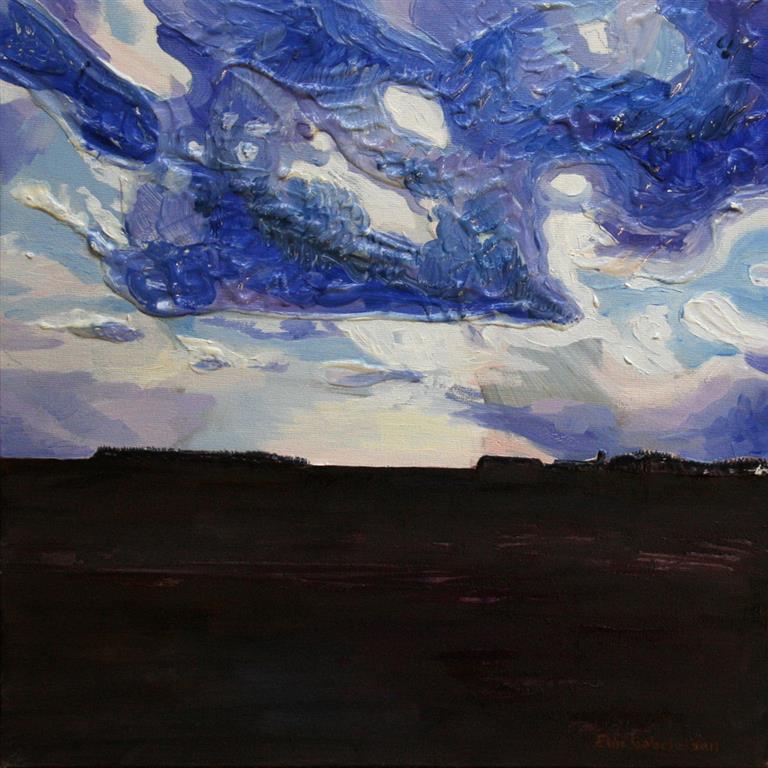 Skagen I Akrylmaleri 30x30 cm 2500 ur