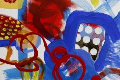 Dots 3 Akrylmaleri 30x30 cm 2500 ur