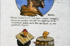 Petit Larousse 1950 I Etsning 24,5x14 cm 650,-kr u.r.