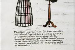 Petit Larousse 1950 III Etsning 24,5x14 cm 650,-kr u.r.