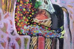 Candy Kiss Oljemaleri (40x30 cm) kr 3000 ur