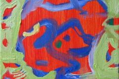 Portrett I Oljemaleri (15x15 cm) kr 900 ur