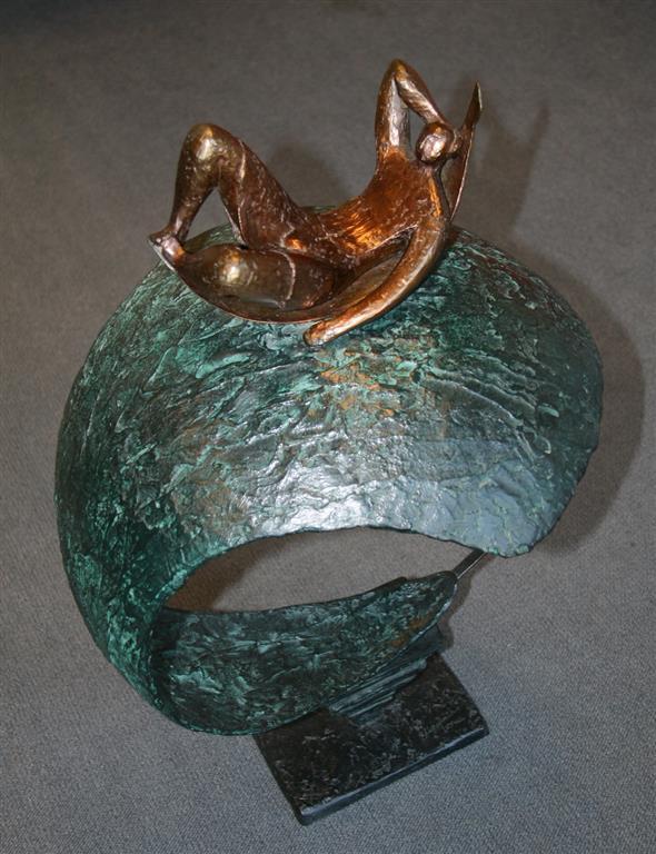 Adrift Bronse H76 cm 32000