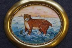Frode Oljemaleri (19x24 cm) kr 1500 ur