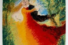 Madonnas dans Serigrafi 81x63,5 cm 10000 ur