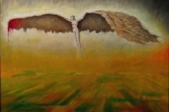 Brukken vinge II Oljemaleri 40x50 cm 22000 mr