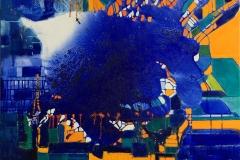 Det venlige Havvæsen Oljemaleri (80x100 cm) kr 24000 ur