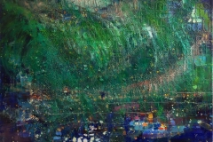 Nordlys - Vesterålen Oljemaleri (60x80 cm) kr 10000 ur