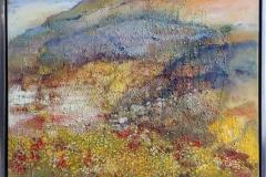 Sommer i fjeld Oljemaleri (60x80 cm) kr 10000 mr