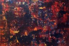 Tusmørke Oljemaleri (120x160 cm) kr 33000 ur