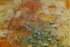 Droemme i sommernatten Oljemaleri 60x60cm 5500,-kr m.r