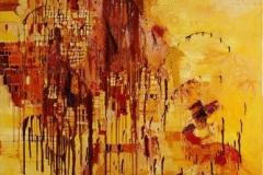 Svaler i soldans Oljemaleri 150x120cm 25000,-kr u.r