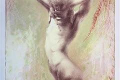Dancing in the dream Litografi (70x49 cm) kr 6000 ur