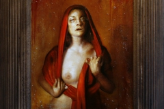 Red Wine Portrait