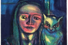 Dobbeltportrett Litografi 45x37 cm 3500 ur