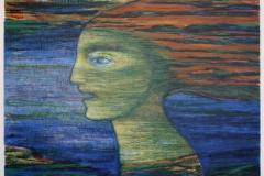 Sirene Litografi 37x51 cm 3500 ur
