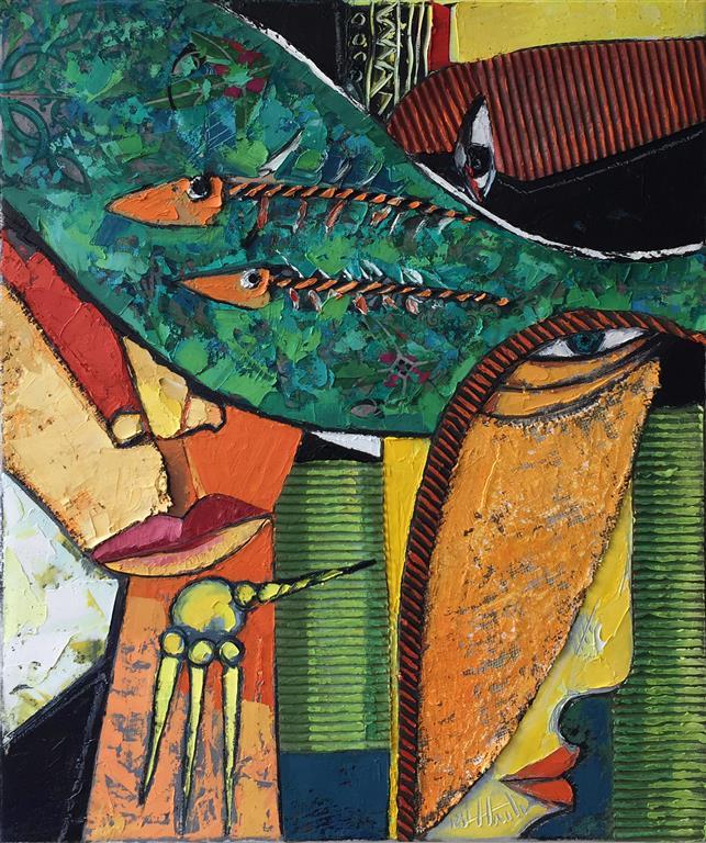Elva Maleri (60x50 cm) kr 8000 ur