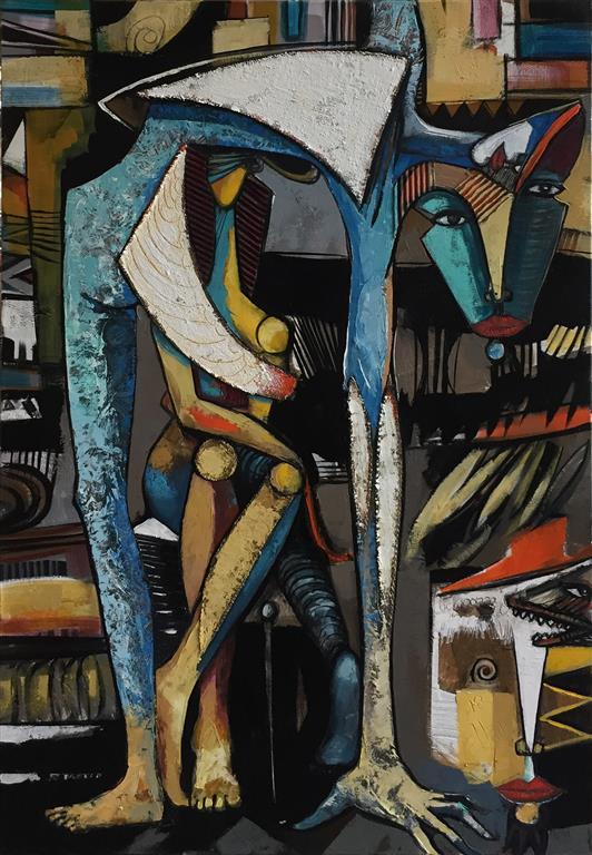Vertskap Maleri (80x60 cm) kr 13000 ur