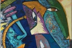 Intuisjon Maleri (60x50 cm) kr 8000 ur