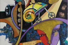 Konkyliens ferd Maleri (100x80 cm) kr 20000 ur