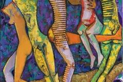 Støtter Maleri (50x40 cm) kr 6000 ur