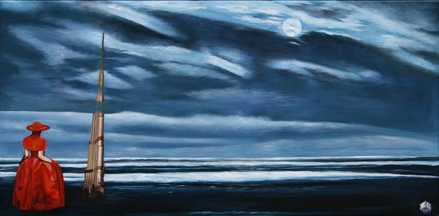 Amazing Grace Akrylmaleri 60x120 cm 20000,-kr m.r.