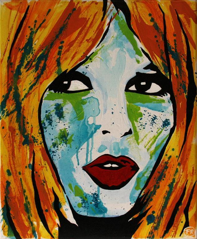 BB (Birgette Bardot) vol.2 Akrylmaleri 50x40 m 4000 mr