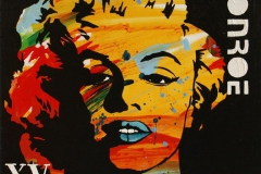 Monroe XV Akrylmaleri 50x50 cm 4400 mr