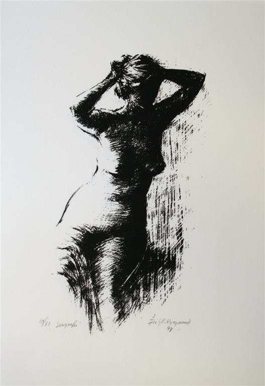Skumring II Seriegrafi 35x30 cm 1500 ur