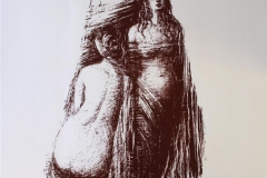 Triade Seriegrafi 65x50 cm 2000 ur