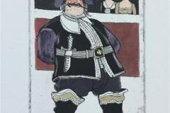 Let´s get merry Etsning (15x10 cm) kr 1500 ur
