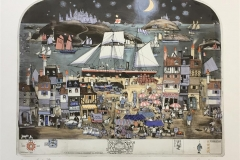 Salon de The Etsning (43x55 cm) kr 6000 ur