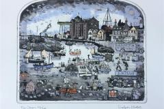 The Quay Etsning (25x30 cm) kr 3500 ur