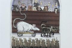 Year of the Rat Etsning (13x11 cm) kr 1200 ur
