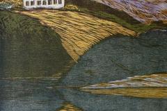 Hus Tresnitt 66,5x51 cm 1600 ur