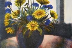 Sommerglede inne Litografi 43x33 cm 1000 ur