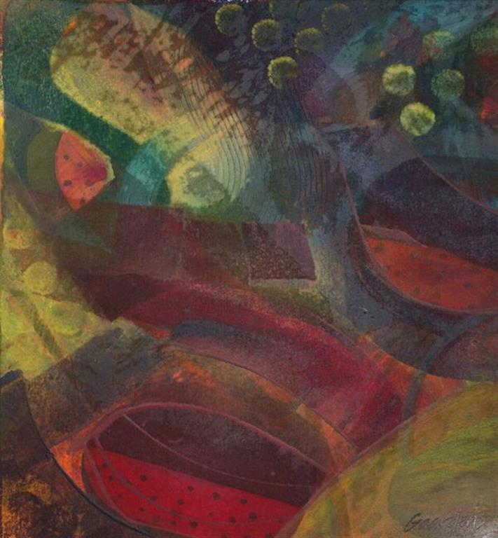 Meloner Encaustic (46x49 cm) kr 4500