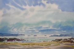Jæren Akvarell (36x48 cm) kr 3000 ur