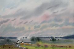 Landskap 14 Akvarell (36x48 cm) kr 3000 ur