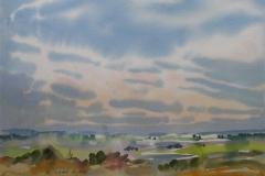 Landskap 20 Akvarell (36x48 cm) kr 3000 ur