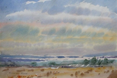Landskap 22 Akvarell (36x48 cm) kr 3000 ur