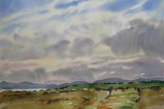Landskap 25 Akvarell (36x48 cm) kr 3000 ur