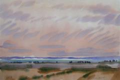 Landskap 32 Akvarell (36x48 cm) kr 3000 ur