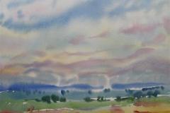 Landskap 40 Akvarell (38x48 cm) kr 3000 ur