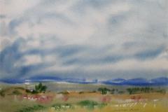 Landskap 6 Akvarell (36x48 cm) kr 3000 ur
