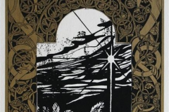 Den hellige natten Serigrafi 36x20,5 cm 900 ur